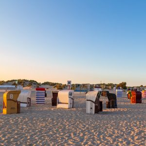 Insel Borkum am Strand