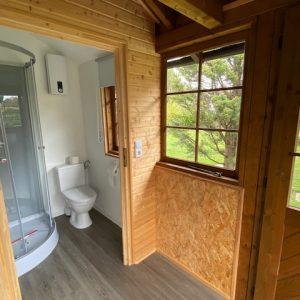 Sauna mit Dusche und WC